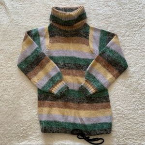 Vintage Bandini striped mohair blend sweater